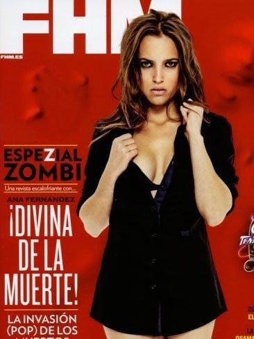 Ana Fernández, de muerte, en FHM