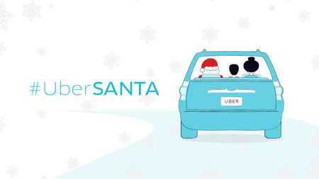 Este viernes llega UberSanta a repartir regalos por las ciudades de Colombia