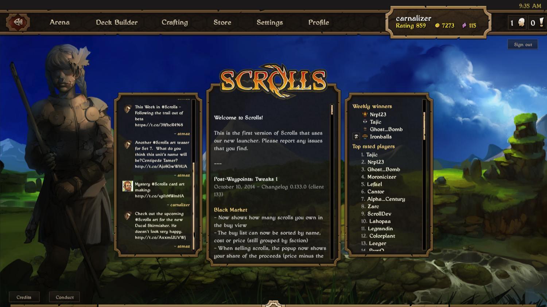 Foto de Scrolls, el nuevo juego de Mojang (8/30)