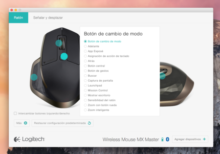 Logitech MX Master personalizacion