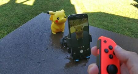 Con estos pasos tan sencillos puedes usar el Joy-Con de Nintendo Switch como un disparador para la cámara de un móvil Android