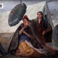 ¿Así queremos nuestro mundo, nuestro arte? El Museo del Prado se une a la alerta contra el cambio climático