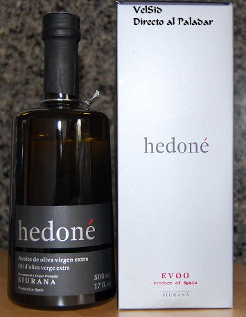Hedoné, aceite de oliva virgen extra D.O.P Siurana
