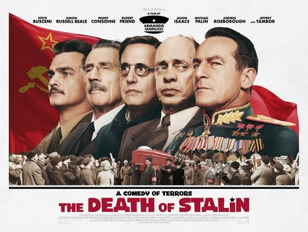 """'La muerte de Stalin' es prohibida en Rusia: """"Hay un límite moral entre el análisis crítico de la historia y la pura burla"""""""
