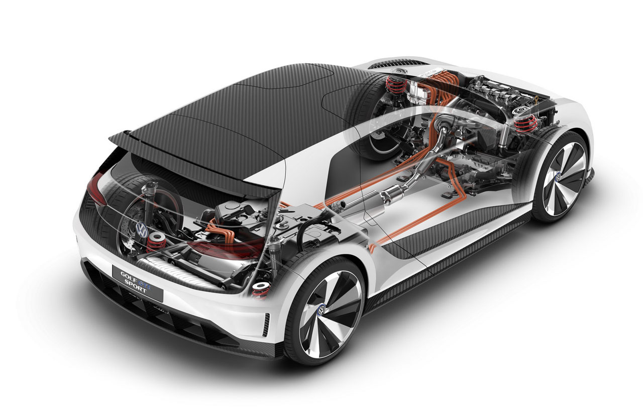 Foto de Volkswagen Golf GTE Sport Concept (20/43)