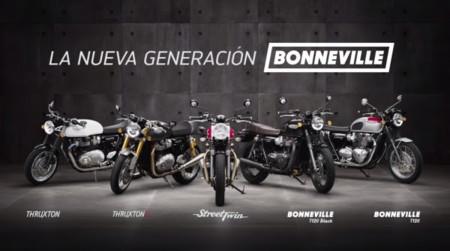 Triumph lanza la nueva gama clásica con cinco modelos