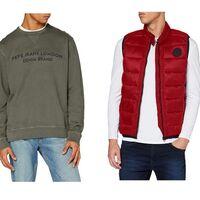 Chollos en tallas sueltas suéteres, sudaderas y chalecos Pepe Jeans para hombre a la venta en Amazon