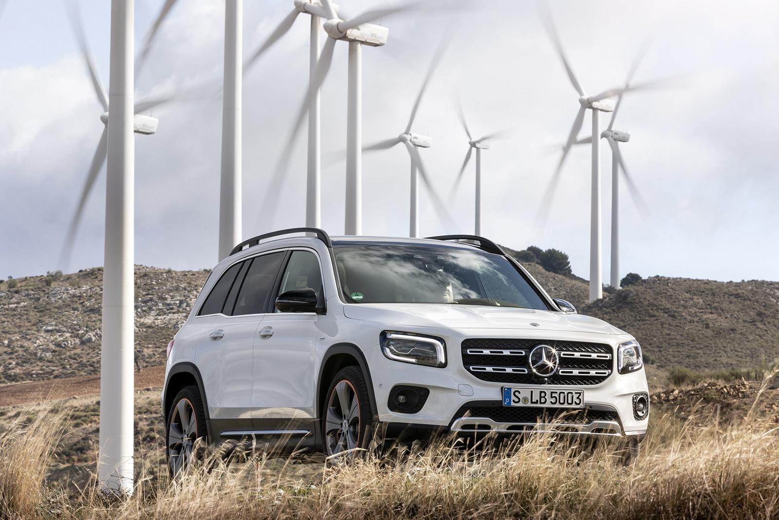 Mercedes-Benz GLB 250 4MATIC (lanzamiento)