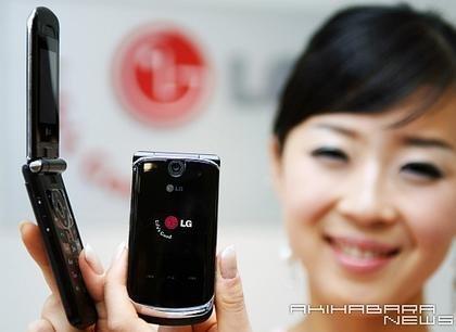 LG-KG810, el delgado de LG