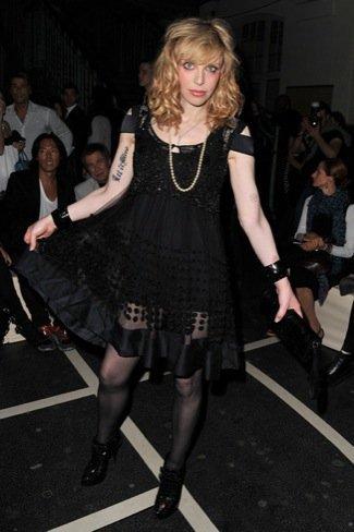 Semana de la Moda de París Courtney Love