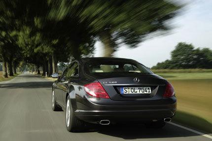 Mercedes-Benz CL500 4Matic a Ginebra