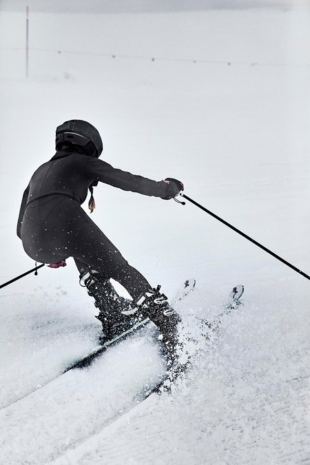 Oysho Gymwear Ski Editorial 17
