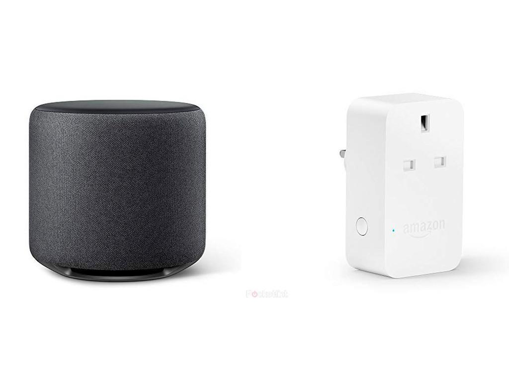 Se filtran los mas recientes dispositivos de Amazon con Alexa: un subwoofer y un enchufe
