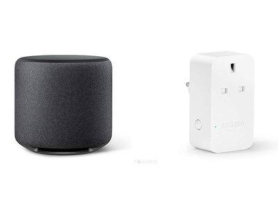 """Se filtran los nuevos dispositivos de Amazon con Alexa: un subwoofer y un enchufe """"inteligente"""""""