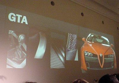 Alfa Brera GTA, desvelado