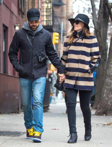 Olivia Wilde rayas embarazo
