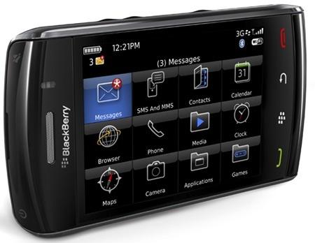 Blackberry Storm 2, terminal profesional para empleados en movilidad