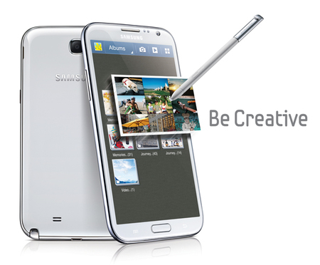Samsung Galaxy Note II Air View