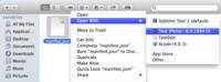 Pronto podremos abrir archivos con extensiones de Chrome desde el Finder