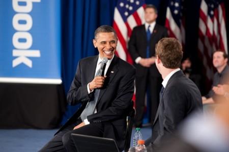 Barack Obama Mark Zuckerberg