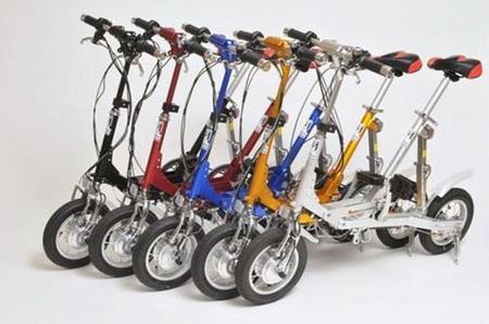 VeloMini III, bicicleta eléctrica extremadamente plegable y funcional