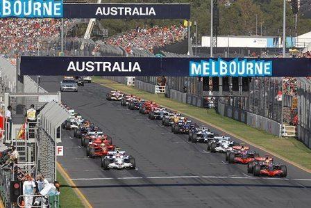 Los horarios del Gran Premio de Australia