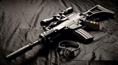 Delta Six, una réplica de arma que funciona como mando FPS