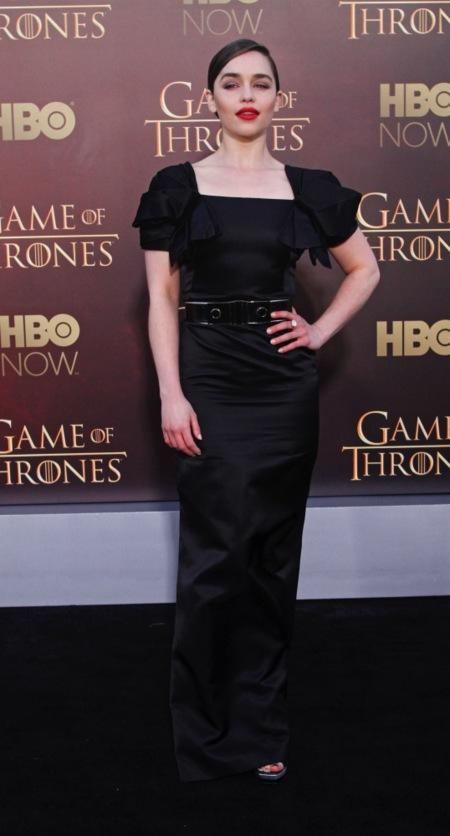 Emilia Clarke, cada año que pasa estás más buenorra