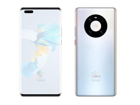 Huawei Mate 40 Pro Renders Filtracion Pantalla Diseno