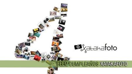 ¡Feliz cuarto cumpleaños Xataka Foto!