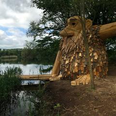 Foto 8 de 11 de la galería gigantes-madera-copenhague en Diario del Viajero