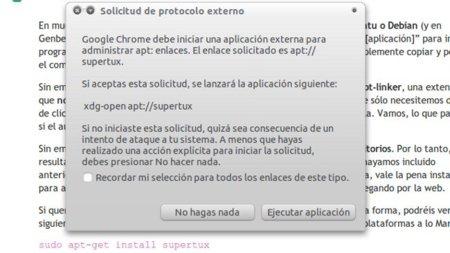 Apt-linker: simplifica en Chrome la instalación de aplicaciones por medio de comandos