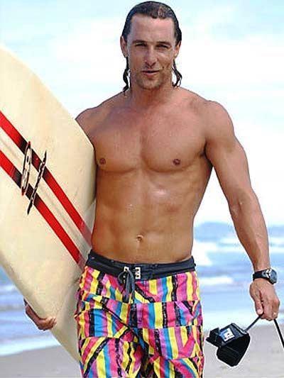Matthew McConaughey, otro con gusto por las placentas