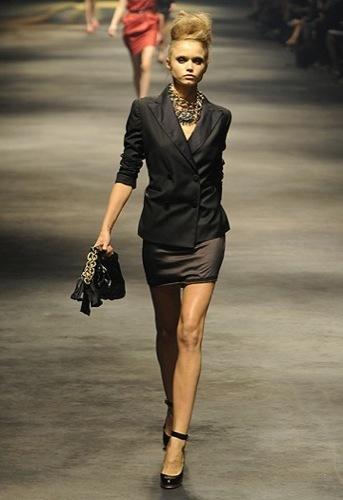 Lanvin, Primavera-Verano 2010 en la Semana de la Moda de París VI