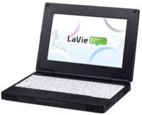 NEC LaVie Light, ultraportátil de 8.9 pulgadas