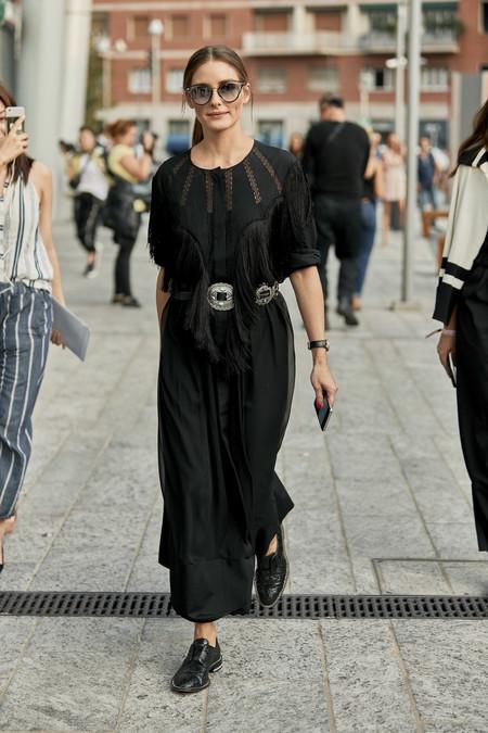 Olivia Palermo street style mfw
