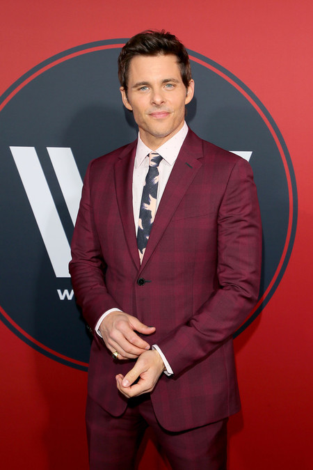 James Marsden Check Look Red Carpet Westworld Premiere 2
