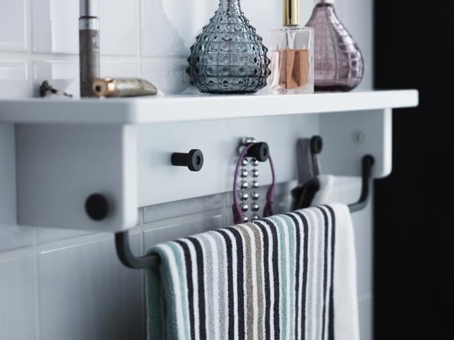 Apliques Baño Vintage:Tendencias en muebles para el baño en el Catálogo de Ikea 2013