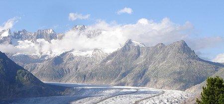 El día que me puse delante del glaciar Alestsch