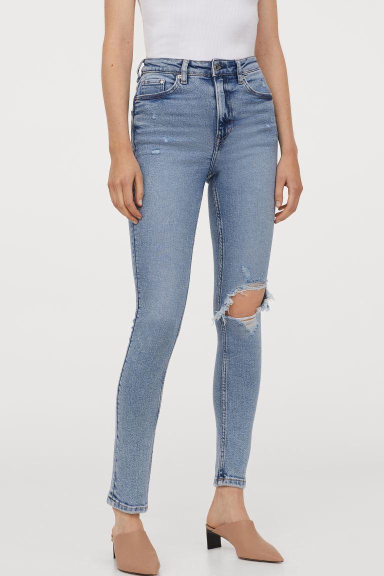 Vintage Skinny High Jeans