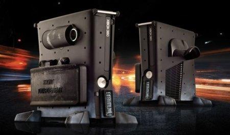 Xbox 360 y PS3 con carcasas de 'Battlefield 3'