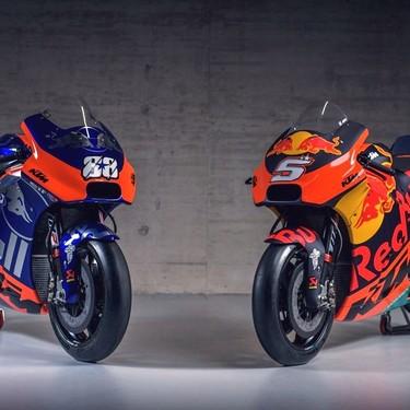 Sobredosis de Red Bull para MotoGP: aquí tienes más de 200 fotos de las KTM RC16 2019