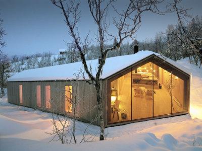 Una vanguardista cabaña Noruega desde la que nos encantaría comenzar el nuevo año