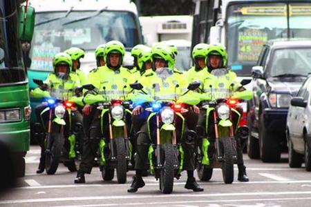 Ahora le toca a la policía colombiana cambiar sus motos de combustión por las eléctricas Zero DS