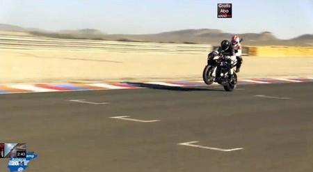 La BMW S1000RR y Jürgen Fuchs hacen de taxista del diablo en Almería