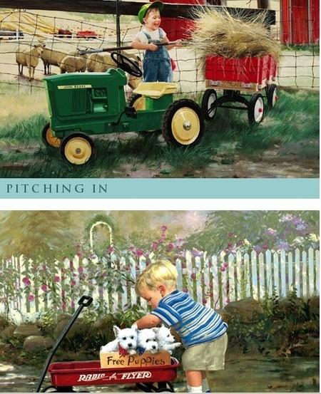 Donald Zolan, el pintor de la infancia