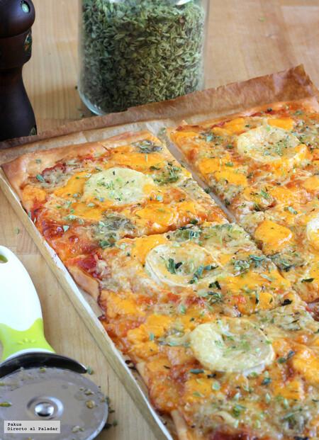 Pizza De Cinco Quesos