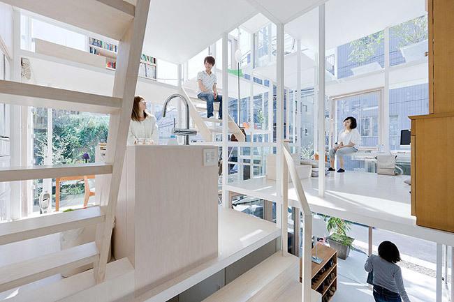 Foto de Casas poco convencionales: una casa completamente transparente (7/14)