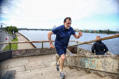Lo que hace Rajoy se llama marcha deportiva y sí, es un buen entrenamiento: así puedes practicarlo