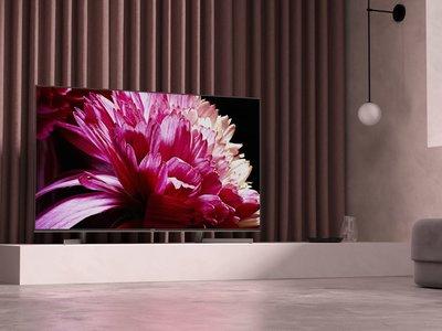 La nueva gama de televisores LCD Sony XG95 llegará en marzo por precios a partir de 1.999 euros